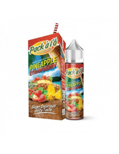 Pineapple Strawberry 50ML Pack A l'Ô - e liquide malaisien sur johnnyvape.fr