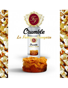 Arome Concentre Crumble - Fabrique Francaise - Concentre  gourmand - JohnnyVape